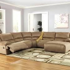 fabric sectionals with recliners hogan 5 piece motion sectional