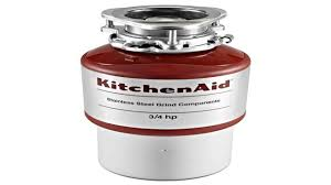 Kitchen Disposal by Kitchen Aid Kcdb250g 12 Hp Continuous Feed Garbage Disposal Youtube