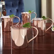 moscow mule mugs moscow mule mugs 18oz set of 4