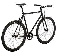 6ku fixie singlespeed fixed gear bike nebula black city grounds