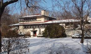 frank lloyd wright in riverside il the tomek house youtube
