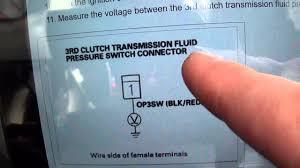 transmission not shifting p0848 u002708 honda civic youtube