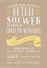 Wedding Shower Invites Rustic Bridal Shower Invitations U2013 Gangcraft Net