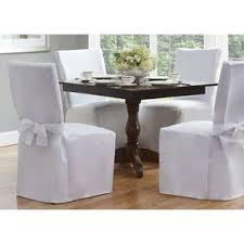 White Slipcover Dining Chair White Slipcovers You U0027ll Love Wayfair