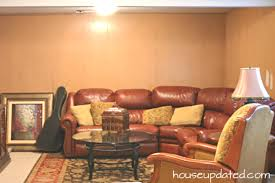 painting paneling in basement basement refresh painting wall to wall paneling part 1 house