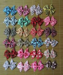 wholesale hairbows 50 pieces 3 inch hair bows three inch wholesale hair bows
