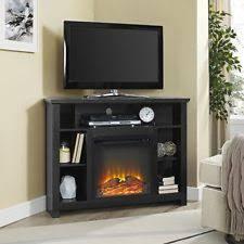 Propane Fireplace Tv Stand by Corner Fireplace Tv Stand Ebay