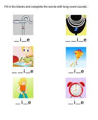 efl esl worksheets grade 1 worksheets long vowel worksheets