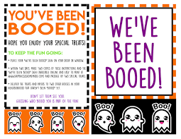 free you ve been booed printables happiness is
