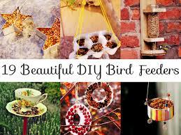 beautiful diy bird feeders