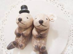otter cake topper otter cake otters in wedding cake topper keepsake with by
