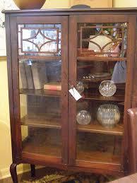 Heywood Wakefield China Cabinet Kahler Payne Vintage Antiques Gifts Furniture