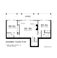 house plan the ryecroft by donald a gardner architects