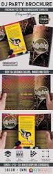 dj party u2013 premium tri fold psd brochure template free download