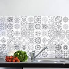 carrelage cuisine mosaique 60 stickers adhésifs carrelages sticker autocollant carrelage