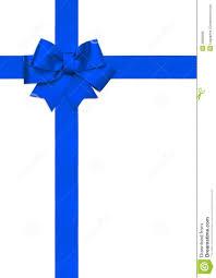 white blue ribbon blue ribbon bow isolated on white stock photo image 38806695