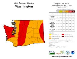 United States Drought Map by Washington State University
