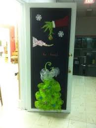 Grinch Office Decorations by Christmas Bulletin Board Or Classroom Door Rudolph Inspired
