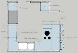 plan de cuisine moderne wonderful plan de cuisine moderne avec ilot central 13 cuisine