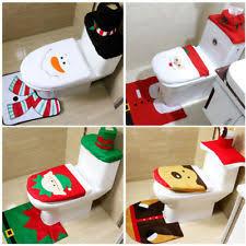christmas bathroom decor ebay