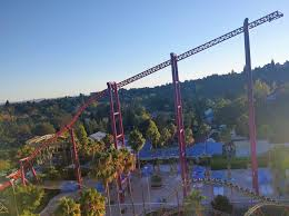 Six Flags Discovery Kingdom Discounts A Z Coaster Of The Week V2 Vertical Velocity Coaster101