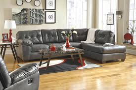 Grey Leather Sectional Costco Sofa Canada Light suzannawinter