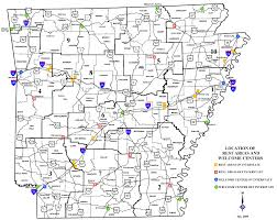 state of arkansas map arkansas rest areas roadside ar rest stops maps facility