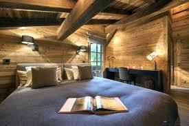 field dans ta chambre chambre style chalet de montagne d co chalet id es d co chambray