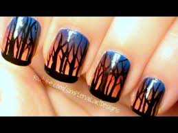 fall sunset forest nails products pure ice super star white