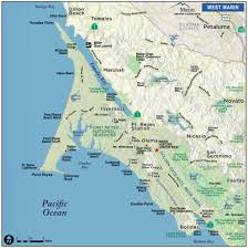 Map From San Francisco To Napa Valley by Map Of Marin U0026 Directions Maps U0026 Transportation Marin County