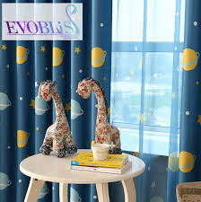 Toddler Blackout Curtains Universe Curtains For Bedroom Curtains For Children Blackout
