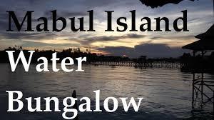 mabul island water bungalow snorkeling malaysia day 8 youtube