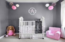 Grey And Pink Nursery Decor by Alexa U0027s Beautiful Pink And Grey Nursery Project Nursery