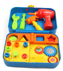 amazon com kidoozie cool toys tool set includes audio responses