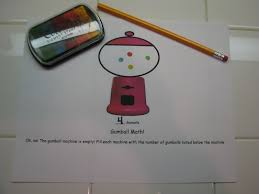 stories by melissa alani gumball math sheets