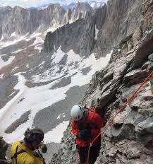 Colorado 14er Map by Mountain Climber U0027s Body Located On 14 000 U0027 Capitol Peak Co