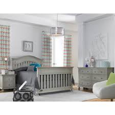 Universal Bed Rail For Convertible Crib by Dolce Babi Naples Crib In Grey Satin By Bivona U0026 Company
