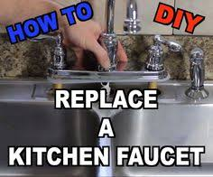 How To Repair Kitchen Faucet How To Replace Your Kitchen Faucet Swap Out An Old Faucet To Give