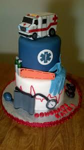 emt paramedic graduation cake someone had better get me this