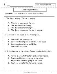compound sentences worksheet 3rd grade worksheets