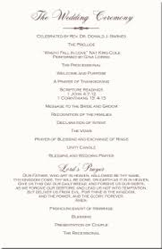 christian wedding program templates wedding programs wedding program wording program sles program