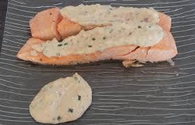 comment cuisiner le pavé de saumon pavé de saumon sauce citronnée recette dukan pp par fanie37