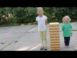 How To Make Backyard Jenga by Building A Giant Outdoor Jenga Game Youtube