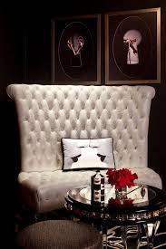 White Leather Tufted Sofa Get The Started Turn A Empty Space Into Your Own Nightclub