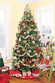 christmas decorate christmas tree with mesh ribbonhow to garland