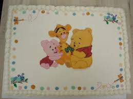 winnie the pooh baby shower cakes dacapo s custom baby shower cakes