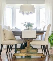 modern farmhouse dining room table with 2x4 chairs diy projects