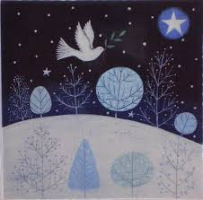 christmas cards dove in night sky north london hospice online
