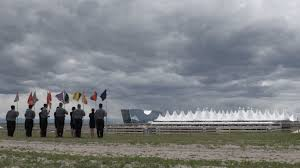 Flag Of Denver New Denver International Airport Artwork Evokes Global Gulag As