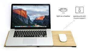 Laptop Lap Desk With Light by Flio Up Flio